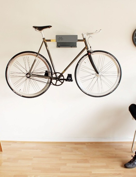 Got a posh bike? Turn it into a feature with the Bike Shelf