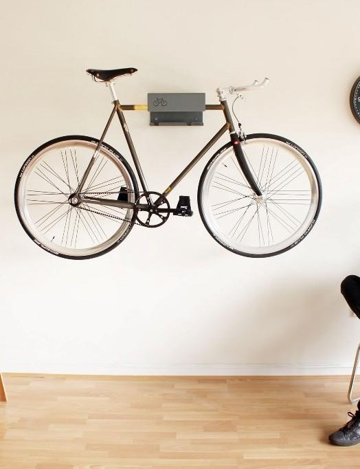 Got a posh bike? Turn it into a feature with the Bike Shelf