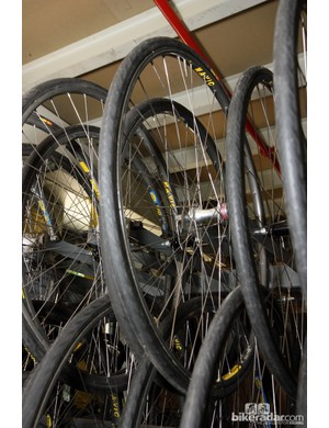 Neutral wheels are the cobbled classics only see service for a small portion of the calendar and are reused year after year