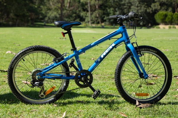 """The Trek Superfly 20: """"best on test"""" according to Amelie (but also most expensive)"""