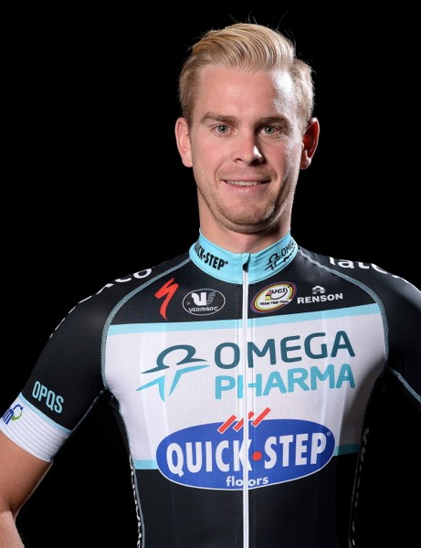 Vermarc's 2014 kit for Omega Pharma Quick-Step