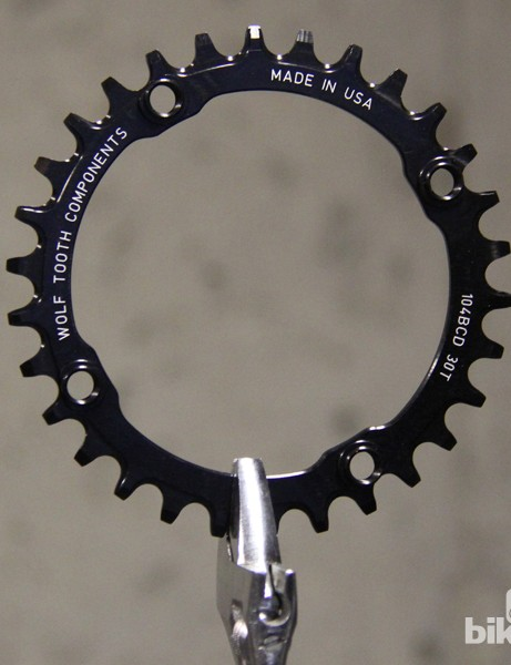 Wolf Tooth makes 104mm BCD chainrings in 30-38T sizes