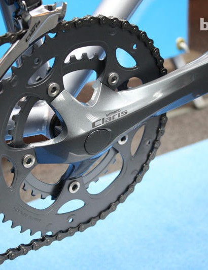 Shimano's Claris groupset emerged as an evolution of the previous 2300 group