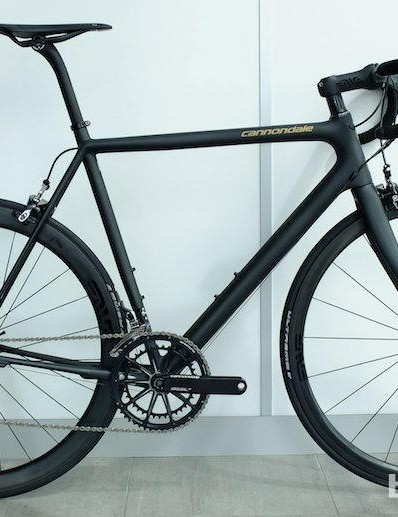 The 2014 Cannondale SuperSix EVO Black Inc