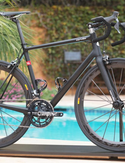 The Cervélo RCA is US$10,000 – for the frameset alone