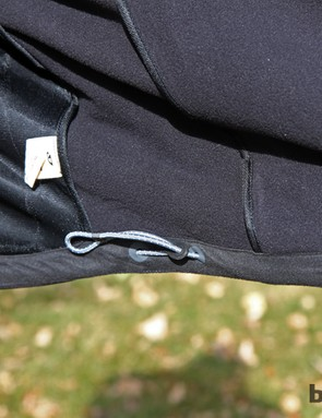 An adjustable elastic hem seals up the bottom of the Giro New Road Neo Rain Jacket
