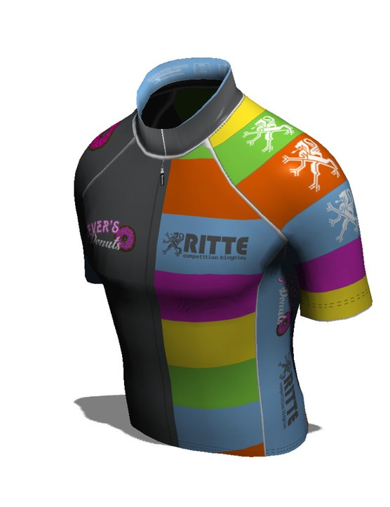 Ever wondered how a custom jersey would look from above?