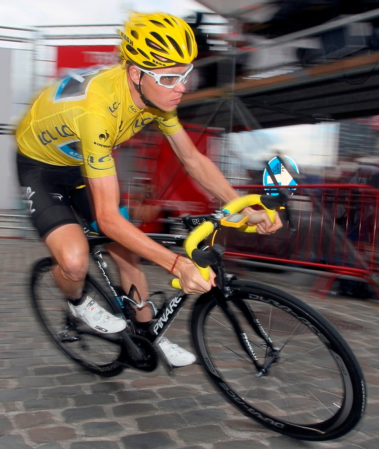 Chris Froome has a Tour winnner's yellow jersey but he's unlikely to scoop the BBC SPOTY this year