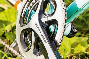 Dura-Ace 9000 is the highlight of the Volare's kit line-up