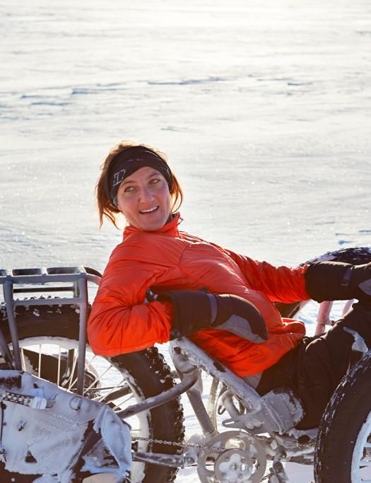Maria Leijerstam has been training in Iceland, where these photos were taken
