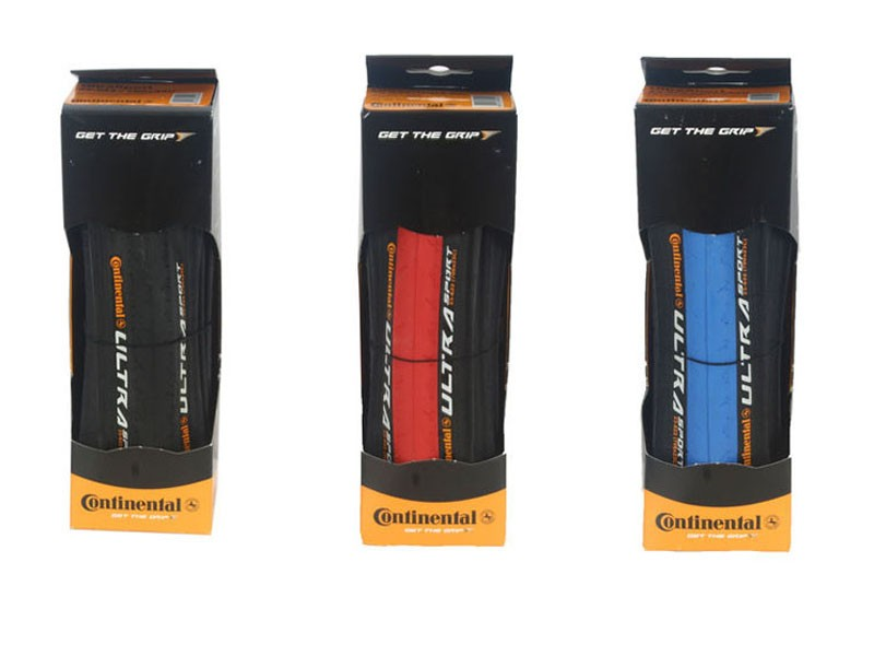 Get a great deal on Continental Ultra Sport tyres with BikeRadar (nb: the red tyres are no longer available)