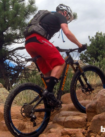 The Bronson is quite nimble when the time comes to time to earn the next descent