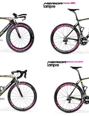 Lampre-Merida are after information to track down the stolen gear