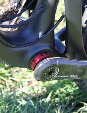 Santa Cruz still feels threaded bottom brackets are the best option for longevity and creak-free riding