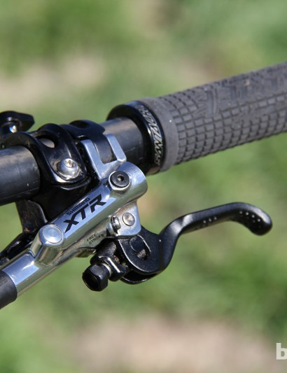 Shimano XTR Trail brakes proved once again why they are the class leader with ample power and great modulation