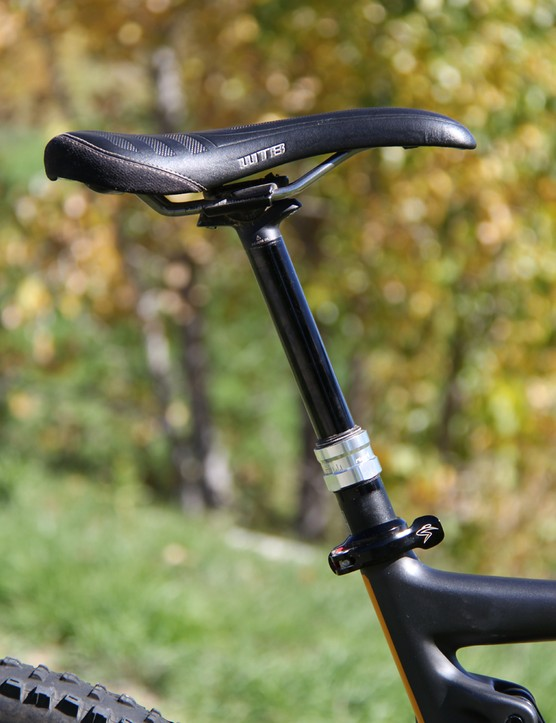 The RockShox Reverb proved flawless throughout out testing. The WTB is comfortable for long days in the saddle