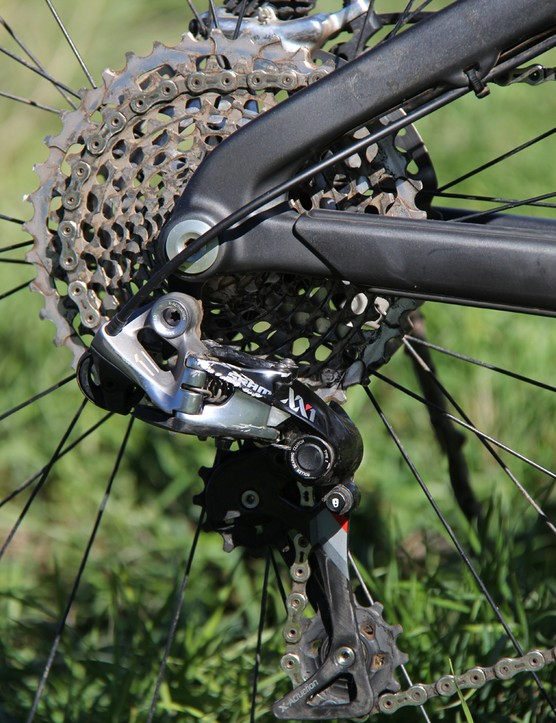 SRAM's XX1 group continues to impress with smooth and accurate shifting