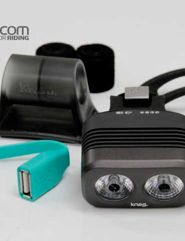 The Blinder Road 3 includes a second (smaller) bar mount, helmet mount and USB extension cord