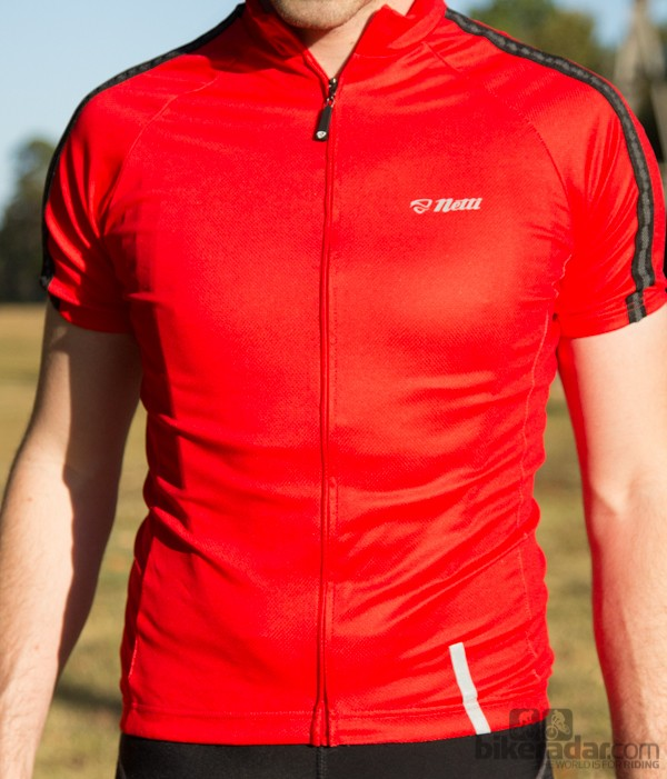 The Netti Refined jersey - available in black, white or red