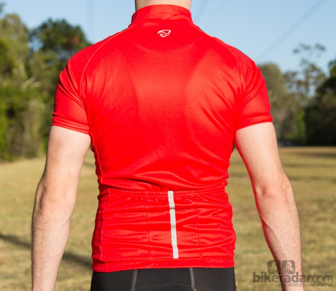 The Netti Refined jersey is a snug, performance fit, but it's not skin tight