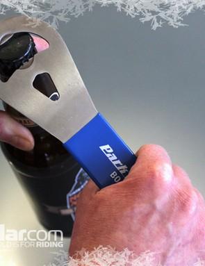 We can verify that Park's BOC2 bottle opener opens bottles. Hic