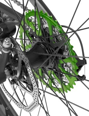 This may be a good option for riders to experiment with 1x drivetrains, before investing in a dedicated 1x11 system