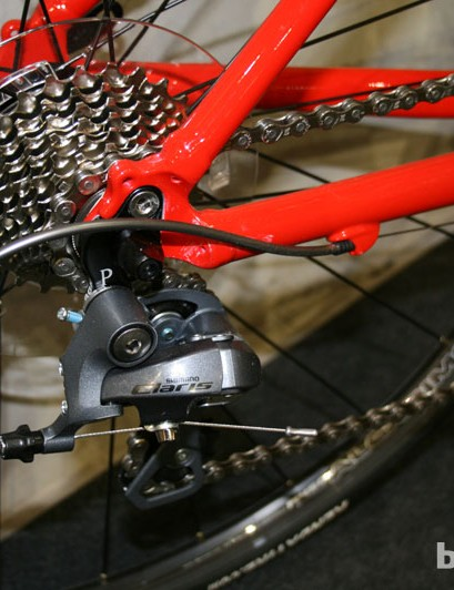 8 speed Shimano Claris gears feature