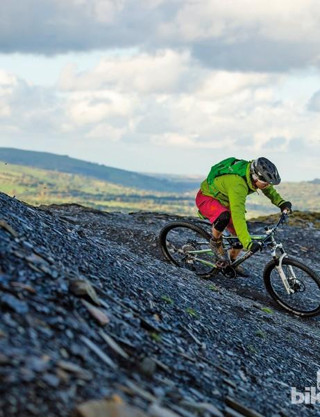 Boardman Pro FS: we're sold on 650b wheels for trail bikes