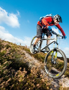The Whyte 901 can square up to most trail challenges