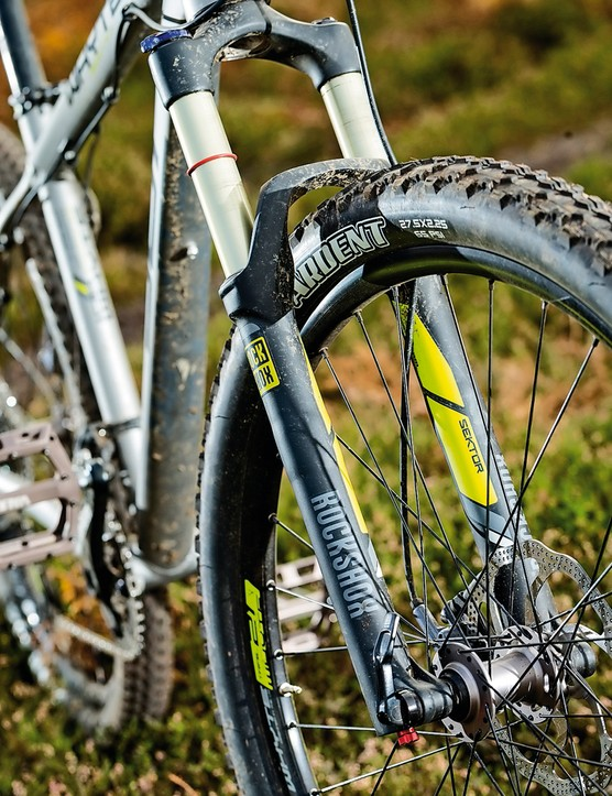 We were pleasantly suprised by the performance of the Sektor fork