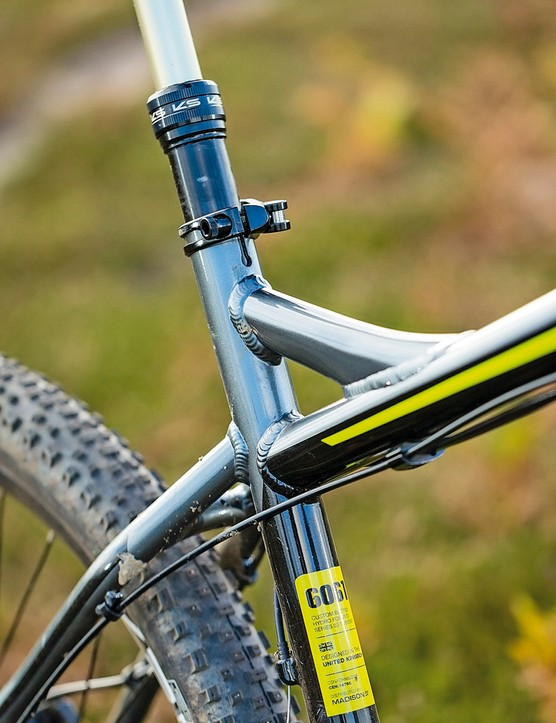 Saracen Zen: Stiff rear end responds well – while you've got the energy