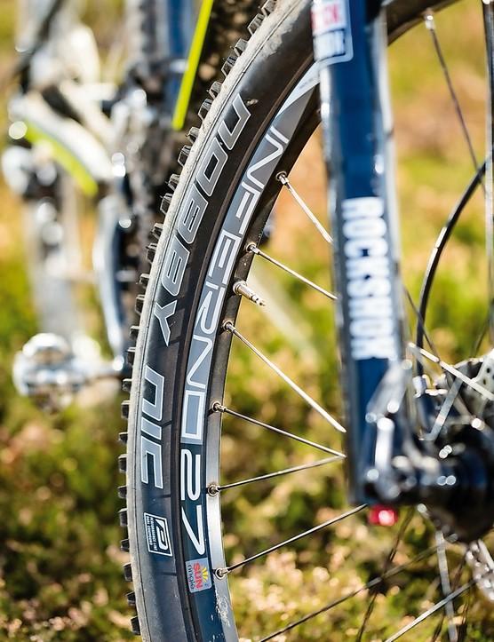 Saracen Zen: Consider upgrading the Nobby Nic tyre