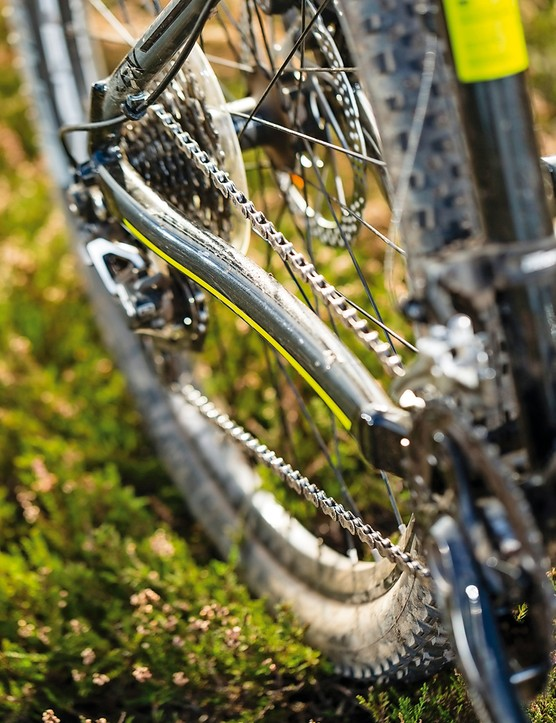 Saracen Zen: The clutch-equipped SLX mech is just what you need here