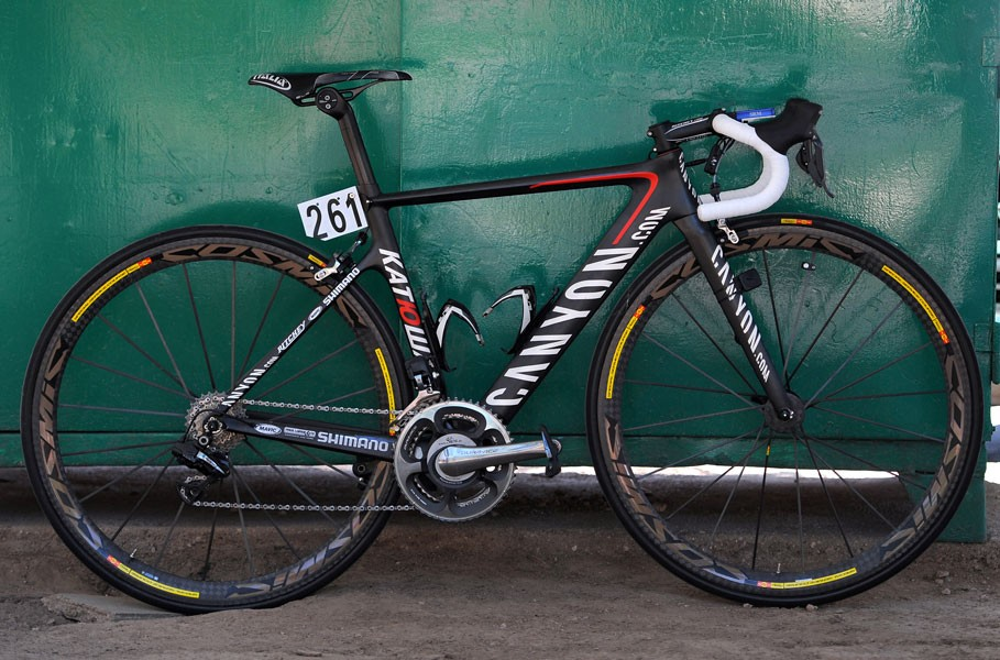 Win an Canyon ex-team Katusha bike with SIS