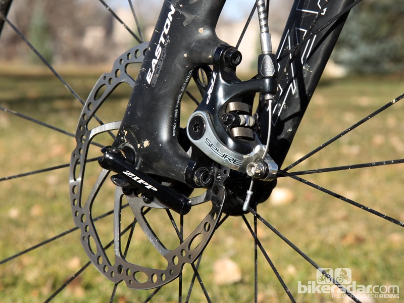 TRP's new Spyre mechanical disc brake is compact and very light with good power and control