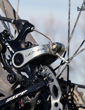 TRP also offers the Spyre with a carbon fiber lever arm instead of the standard aluminum one but it only saves 8g
