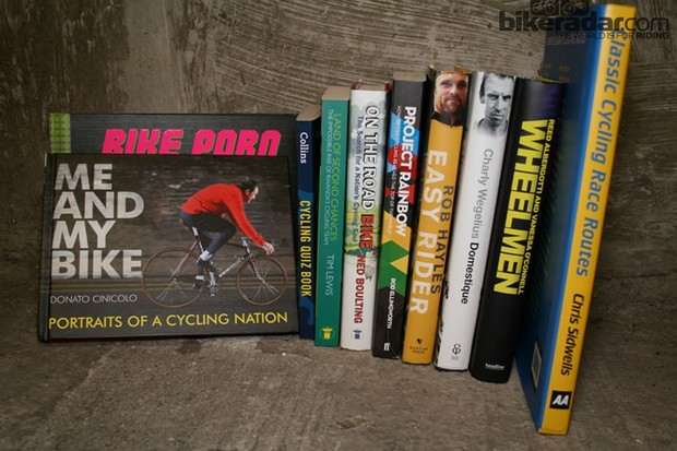 Cycling book publishers and authors have been busy in 2013