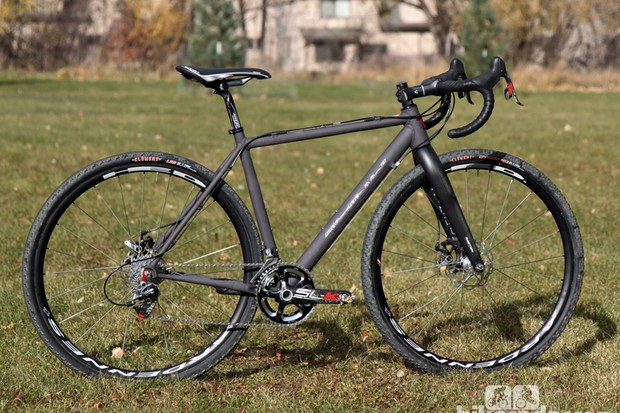 Van Dessel's new Aloominator proves that aluminum can still hold a candle to 'cross when it comes to racing