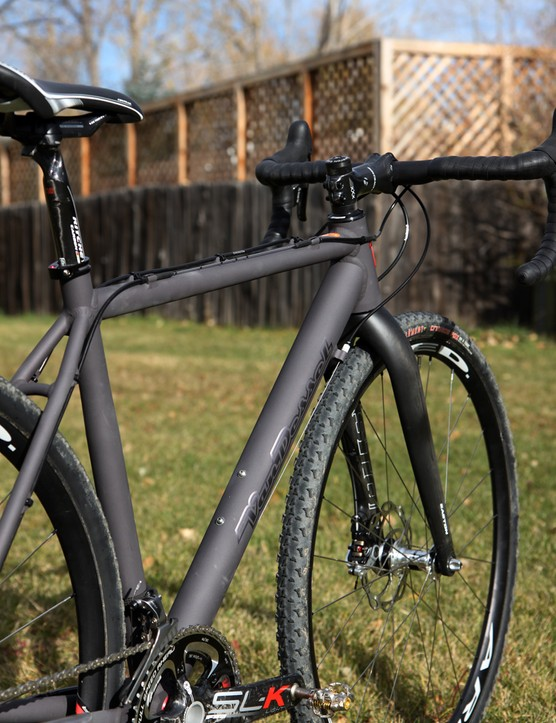 Main tubes are essentially round on the Van Dessel Aloominator