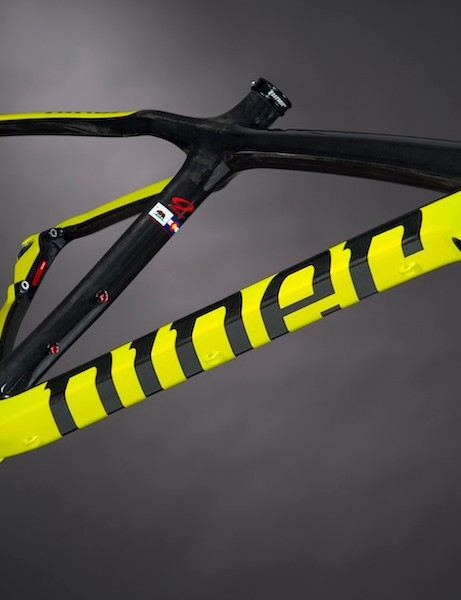 Niner's race-bred One 9 is now available in an eye-searing blaze yellow colorscheme