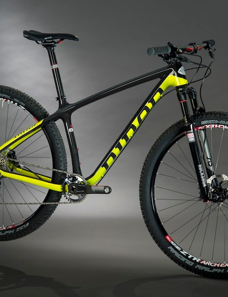 The One 9 looks to be a potent weapon for XC racing, with or withour gears