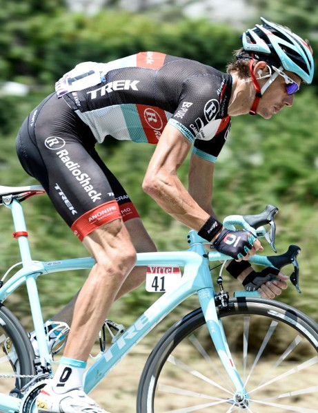 Bontrager Serano: Andy Schleck was racing a prototype design at the Tour de France