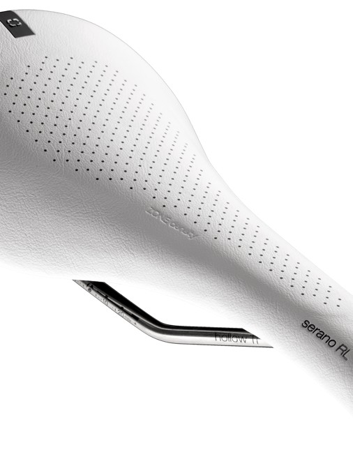 Bontrager Serano: While the sides are curved, the center section is flat with a softer padding
