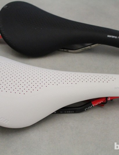 Bontrager Serano: The RXL is roughly 30g lighter than the RL