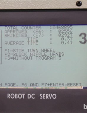 The Holland Mechanics machines are programmed at great detail