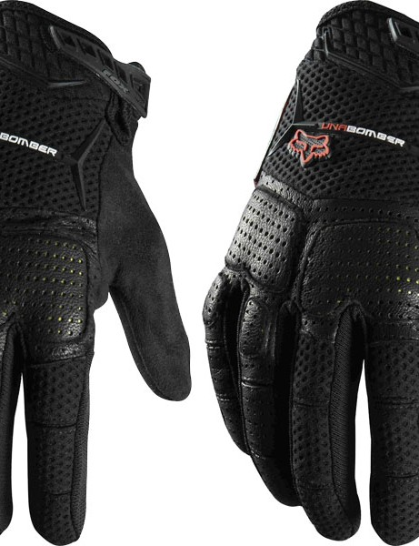 The Fox Unabomber gloves are available in red or black