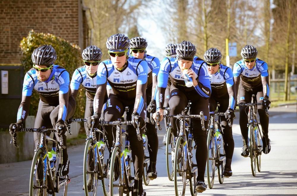 NetApp-Endura training camp ahead of Het Nieuwsblad