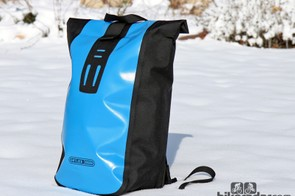 The Ortlieb Velocity backpack is ready to tackle the elements thanks to waterproof materials and a roll-top closure