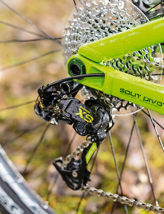 Salsa Horsethief II: Complete bikes get neat colour coding – it's frame-only in the UK though
