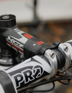 Shimano's component arm PRO supply an all-aluminium bar and stem combination